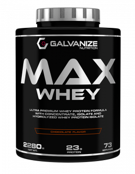 картинка Galvanize Max Whey 2280 гр. (Chocolate Hazelnut) от магазина